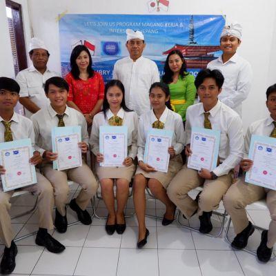 Indonesia Pertama Kali Mengirim Mahasiswa Training ke Jepang, Politeknik Pariwisata Bali Berhasil Lolos