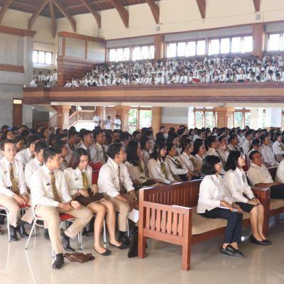 Politeknik Pariwisata Bali Antusias Memulai Kelas Perdana