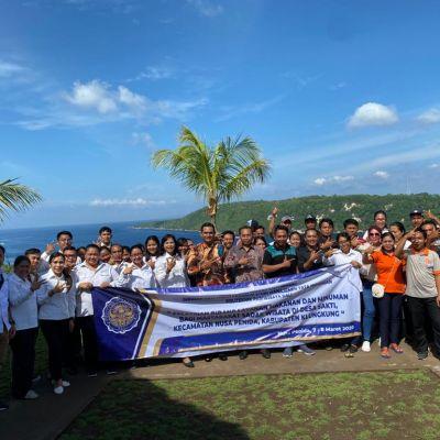 Prodi MTH Poltekpar Bali Melaksanakan Pengabdian kepada Masyarakat  di Desa Sakti, Nusa Penida