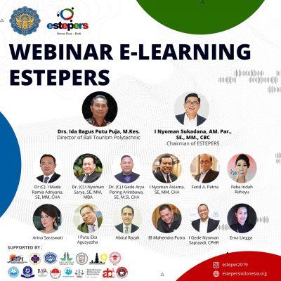 "Prodi MBP Poltekpar Bali bersama Estepers mengadakan Webinar E-Learning ""Introduce to Cargo Industry"""