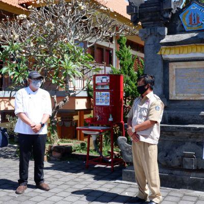 Prodi MTB Poltekpar Bali Siapkan Makanan Siap Saji Bagi SATGAS Gotong Royong Pencegahan Covid-19